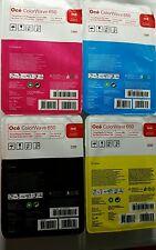 GENUINE NEW OCE ColorWave 650 P2 TONER PEARLS FULL SET CYAN MAGENTA YELLOW BLACK