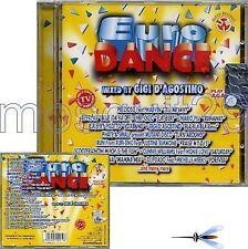 "GIGI D'AGOSTINO ""EURODANCE"" RARO CD HITMANIA"