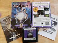 Sega Genesis (CIB) - Star Control - Game , Cardboard Box & Manuals - Complete