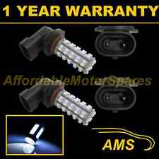 2x HB3 9005 BIANCO 60 LED ANTERIORE principale HIGH BEAM LAMPADINE AUTO KIT XENON mb500801