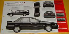 1988 Mitsubishi Galant Turbo VR4 1997cc 195 hp MPFI Info/Specs/photo 15x9