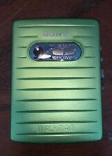 Sony Stereo Cassette Walkman Player WM-MV1 Green Refurbished VERY RARE