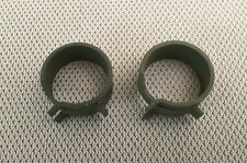 1963-74 Corvette Power Brake Hose Square Tanged Clamps GM# 3829058 New, Pair