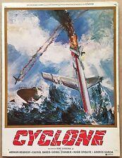 BROCHURE Cyclone con Arthur Kennedy e Carrol Baker - K407