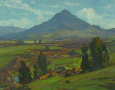 Wendt William Landscape Near San Luis Obispo Canvas 16 x 20    #2148