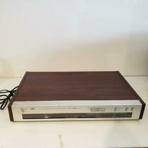 JVC T-X6 AM/FM Tuner Quartz Synthesizer Stereo Woodgrain Vintage Top of the Line