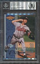 2002 Upper Deck Ballpark Greg Maddux Beckett Authentic Autograph Signed *0102