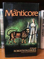 The Manticore - Robertson Davies - First edition/1st printing HCDJ Jung