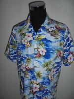 vintage Falksson Hawaii Hemd hawaiihemd surf surfer shirt 90s surf Gr. XL