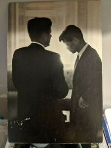 JACQUES LOWE - JFK RFK Kennedy Brothers - 1960 - Iconic Photo - w/ Lowe Bio