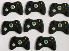 EDIBLE XBOX CONTROLLER CUP CAKE TOPPERS X 12 - APPROX 5CM - AWESOME!!