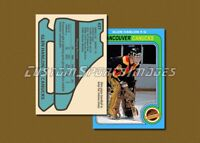Glen Hanlon - Vancouver Canucks - Custom Hockey Card  - 1978-79