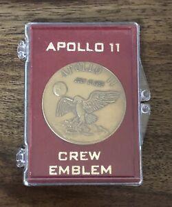 Apollo 11 Crew Emblem 1969 Coin NASA