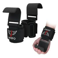 Jayefo Power Weight Lifting Training Wrist Support Hook BAR Straps Fitness Bars