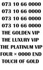 GOLD LUXURY VIP PLATINUM RARE 660000 BUSINESS MOBILE NUMBER - 660000 PLATINUM