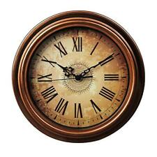 Silent vintage wall-hanging clock Retro watch Living-room/Kitchen/Bed-room decor