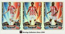 2011-12 Match Attax EPL Soccer Man Of Match Foil Card Team Set (3)-Stoke City