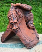 Baby J dragon roof finial 90° angled decorative ridge tile frost proof stone