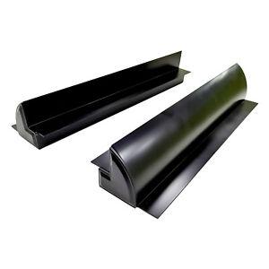 enjoy solar® Aluminium Solarmodul Halterung 2 x 550mm für Wohnmobil (schwarz)