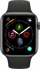 #cybersale New Apple Watch Series 4 44mm Space Gray Alum Black Sport Agsbeagle