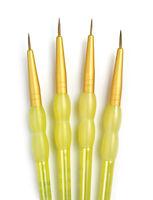 Paint Brushes Set SABLE HAIR 4pc DETAIL Royal Langnickel RCC205