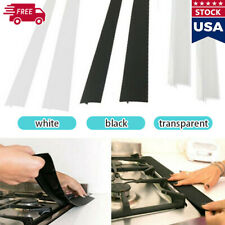 Kitchen Silicone Stove Counter Gap Cover Oven Guard Spill Seal Slit Filler Tool