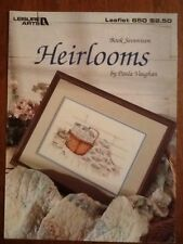 Leisure Arts Cross Stitch Pattern Chart Leaflet Paula Vaughan HEIRLOOMS #17 1988