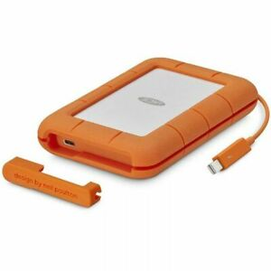 LaCie 4TB Rugged Thunderbolt & USB-C Portable Drive