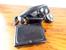 Vintage WW2 Telephone Bell System Western Electric Space Saver WE211 Wall Mount