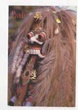 Bali The Rangda 1990 Postcard 969a
