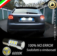 LAMPADA RETROMARCIA LED P21W CANBUS AUDI A3 8P RESTYLING NO AVARIA LUCI