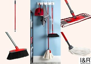 Wham Extendable Microfibre Mop Cleaner Sweeper Wooden Laminate Patio Floor