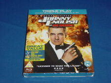 JOHNNY ENGLISH REBORN BLU RAY + DVD NEW ROWAN ATKINSON UNWANTED GIFT PRESENT