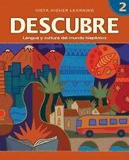 DESCUBRE, nivel 2 - Lengua y cultura del mundo hispánico - Student Activities Bo