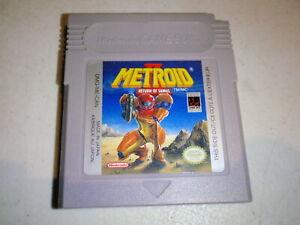 Metroid II 2 Return of Samus Nintendo Game Boy 1991 Authentic