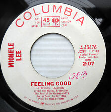 MICHELE LEE soul mod jazz promo 45 FEELING GOOD / STEADY STEADY strong VG+ F1949