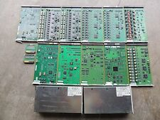 Lot of (11) AVAYA phone cards and two Power Supplies, and two terminators