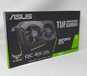 NEW ASUS TUF Gaming GeForce GTX 1650 OC Edition 4GB GDDR6 Graphics Card