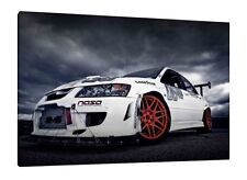 Mitsubishi Lancer  EVO 9 30x20 Inch Canvas - Framed Picture Evolution IX