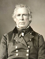 1844-Photo Zachary Taylor-12th president of the USA-Old Rough and Ready