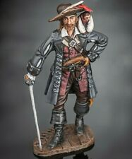 Toy Soldiers Pirate Captain Barbossa  Hand Painted 54mm Tin Metal Figure
