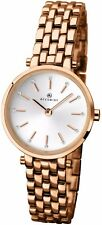 Accurist 8095 Ladies Rose Gold Plated Dress Watch 2 Year Guarantee RRP £99.99