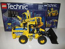 Lego 8459 Technic Model Pneumatic Front End Loader Construction COMPLETE 1997