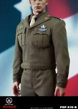 "POPTOYS 1/6 COSTUME Captain Uniform Suit POP X19B WWII Golden Ages Fit 12"" Body"