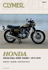 CLYMER REPAIR MANUAL Fits: Honda CB550K,CB400F Super Sport,CB550F Super Sport,CB