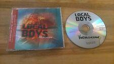 CD pop local Boys-whattheclockman (13 chanson) promo décodeur CB