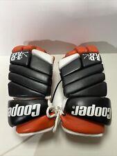"""Vintage Leather Cooper Hgl 600 3D Flex Hockey Player Gloves 14"""""""