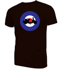 Mod Target with Scooter T-Shirt| Northern Soul Mod Ska Vespa Lambretta Mods