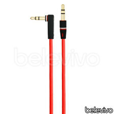 3.5MM L JACK AUDIO AUX CABLE LEAD FOR MONSTER BEATS BY DR DRE SOLO, MIXR, STUDIO