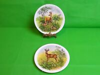 Royal Grafton Deer Plates x 2